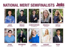 Jenks is one of only three high schools in Oklahoma with 10 or more National Merit semifinalists.