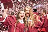 796 seniors crossed the stage at the Mabee Center on Monday, May 21 during Jenks Public Schools' 109th Commencement ceremony.